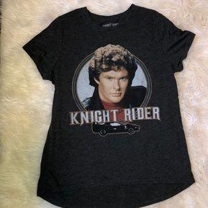 Knight Rider High Low T Shirt